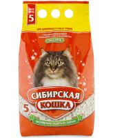 Сибирская кошка Впитывающий наполнитель для длинношерстных кошек Экстра