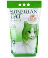 Сибирская кошка Силикагелевый наполнитель Элитный ЭКО