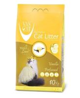 Van Cat Комкующийся наполнитель без пыли с ароматом Ванили, пакет
