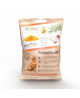 Molina Хрустящие подушечки для кошек с Омега-3 50г