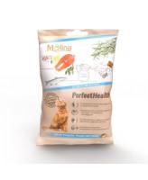 Molina Хрустящие подушечки для кошек со вкусом лосося 50г