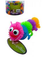 Игрушка для кошек Гусеница, латекс, 6,5 см Papillon