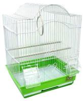 №1 Клетка для птиц фигурная, укомплектованная 30*23*39см