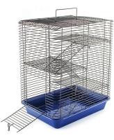 Дарэлл Клетка для для грызунов 4234 ECO Джуниор 3 3-х этажная 33*24*38см разные цвета