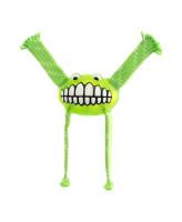 Rogz Игрушка с принтом зубы и пищалкой FLOSSY GRINZ лайм