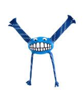 Rogz Игрушка с принтом зубы и пищалкой FLOSSY GRINZ синий