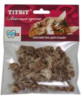 TiTBiT Лакомство для кошек Легкое говяжье