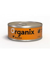 Organix Консервы для кошек с индейкой 100г банка