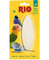 RIO Минеральный камень для птиц Кость сепии 10см