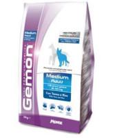 Gemon Dog Medium корм для взрослых собак средних пород, Тунец с рисом