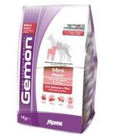 Gemon Dog Mini корм для взрослых собак мелких пород, Лосось с рисом