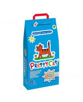 Pretty Cat Aroma Fruit Впитывающий наполнитель с ароматом фруктов