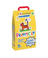 Pretty Cat Супер белый с лавандой Комкующийся наполнитель