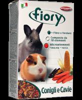 FIORY корм для морских свинок и кроликов Conigli e Cavie  850 г