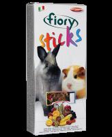 FIORY палочки для кроликов и морских свинок Sticks с фруктами 2х50 г