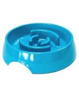 SuperDesign миска меламиновая для медленного поедания 900 мл, синяя