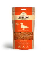 AlpenHof Лакомство для мелких собак и щенков Медальоны из филе утки 50г