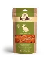 AlpenHof Лакомство для мелких собак и щенков Медальоны из филе кролика 50г