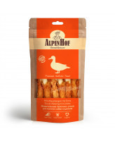 AlpenHof Лакомство для мелких собак и щенков Жевательные палочки с уткой 50г