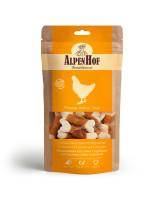 AlpenHof Лакомство для мелких собак и щенков Кальциевые косточки с курицей 50г