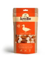 AlpenHof Лакомство для мелких собак и щенков Кальциевые косточки с уткой 50г