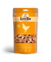 AlpenHof Лакомство для мелких собак и щенков Мини-сэндвич куриный 50г