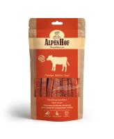 AlpenHof Лакомство для средних и крупных собак Нарезка из филе теленка 80г