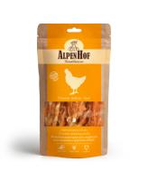 AlpenHof Лакомство для средних и крупных собак Жевательные палочки с курицей 80г