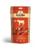 AlpenHof Лакомство для средних и крупных собак Рулетики из телятины 80г