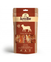 AlpenHof Лакомство для средних и крупных собак Стейки из ягненка 80г
