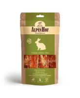 AlpenHof Лакомство для средних и крупных собак Стейки из кролика 80г