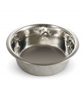 Triol Миска металлическая с рисунком для собак 2,6л