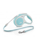 FLEXI New Comfort тросовый поводок-рулетка для собак, светло-голубой