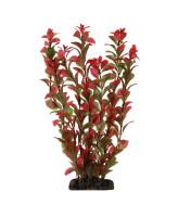 Triol Растение аквариумное пластиковое Людвигия вариегата красная 10см