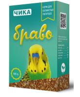 Чика Браво корм для волнистых попугаев 500г
