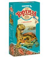 Зоомир Тортила Мax Корм для крупных водяных черепах с креветками 70г