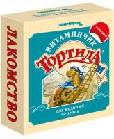 """Зоомир Тортила М """"Витаминчик"""" для водяных черепах с кальцием 30г"""