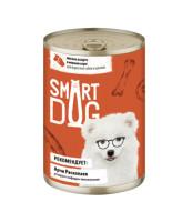 Smart Dog консервы для собак и щенков Мясное ассорти в нежном соусе