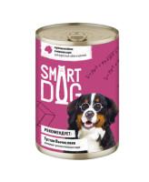 Smart Dog консервы для собак и щенков кусочки Ягненка в нежном соусе