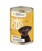 Smart Dog консервы для собак и щенков кусочки Курочки с потрошками в нежном соусе