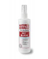 8in1 Natures Miracle Отпугивающий спрей для кошек Pet Block Cat Reppellent Spray 237мл
