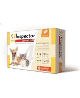 Инспектор Quadro Tabs таблетки для кошек и собак 0,5-2кг от внутренних и внешних паразитов 4шт