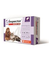 Инспектор Quadro Tabs таблетки для кошек и собак 8-16кг от внутренних и внешних паразитов 4шт