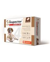 Инспектор Quadro Tabs таблетки для собак более 16кг от внутренних и внешних паразитов 4шт