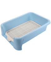 Triol Туалет для собак P587 сетка в комплекте, голубой, 400*400*155мм