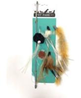 Игрушка для кошек Дразнилка (сменные кисточки) Petpark