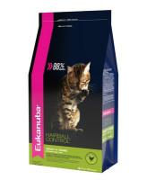 Eukanuba Hairball Indoor корм для кошек Вывод шерсти из желудка