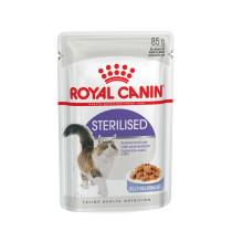 Royal Canin  Sterilised консервы для стерилизованных кошек кусочки в желе 85г